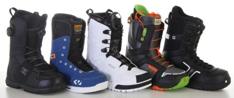 Botas snowboard diversas