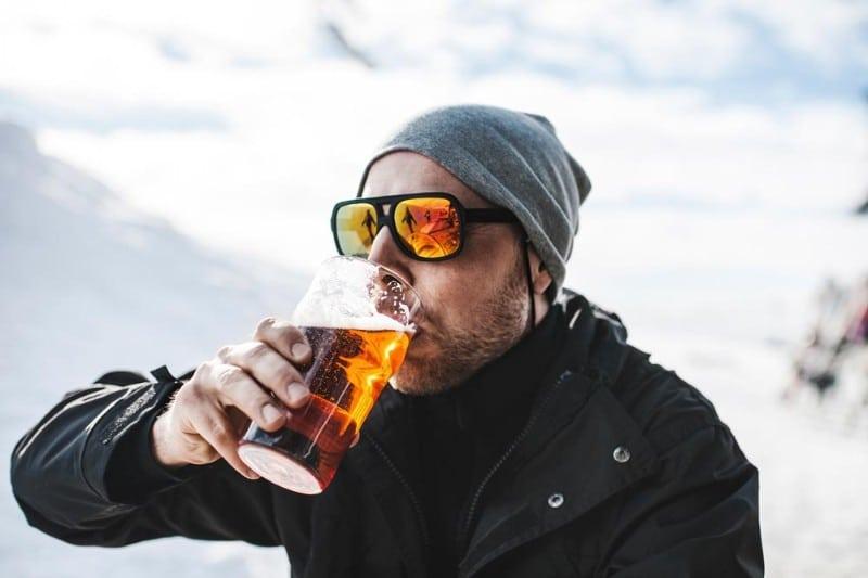 Cerveja no frio