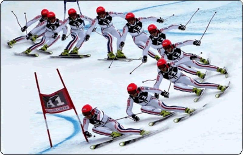 Competição ski