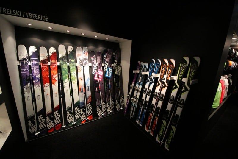 Equipamentos de Ski