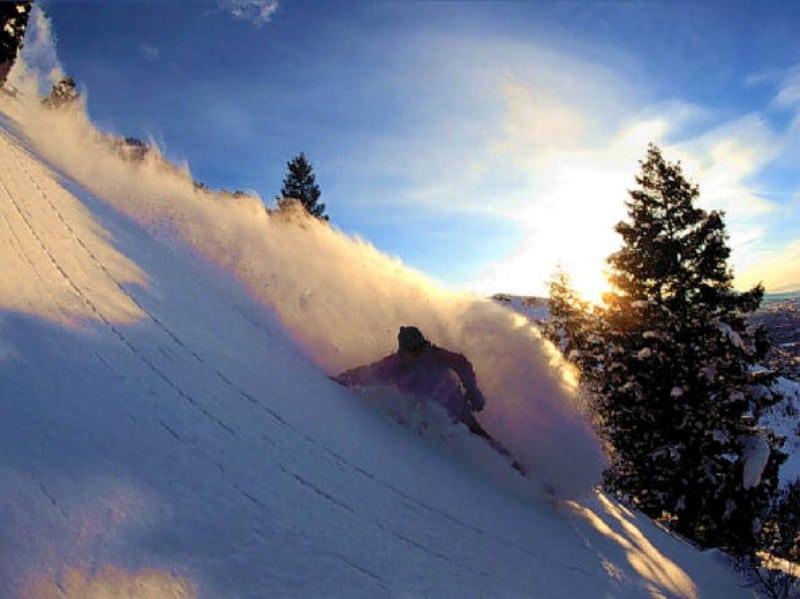 Manobras snowboard