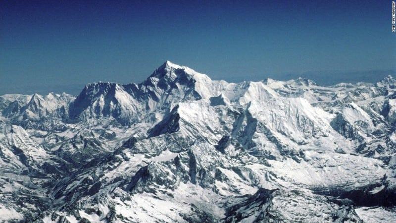 Montanha nevada