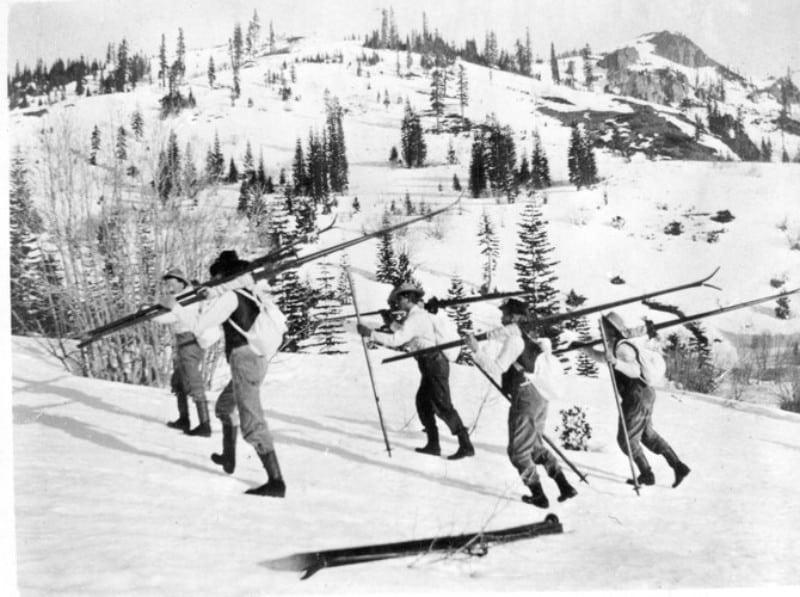 O início do ski