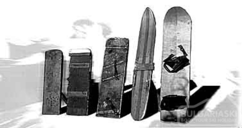Pranchas snowboard retrô