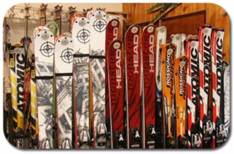 equipamentos de esqui e snowboard