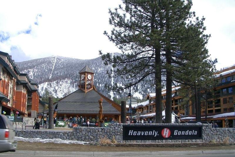 Heavenly base da montanha