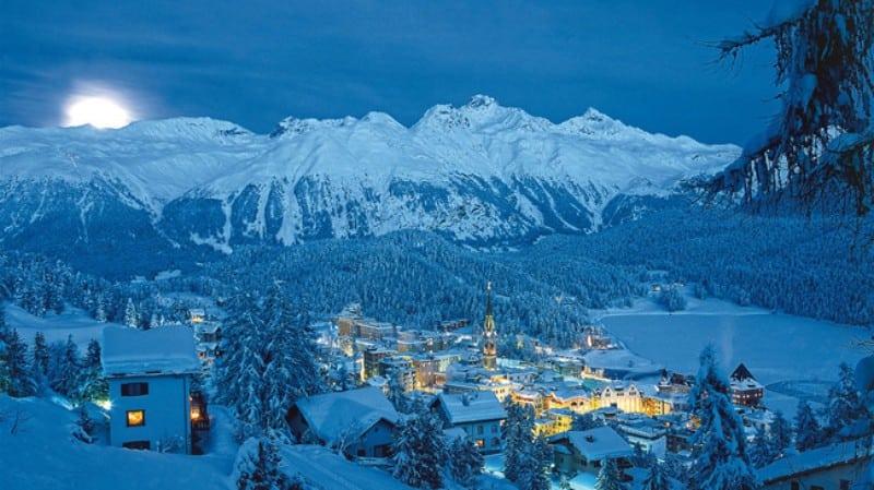 Noite em St. Moritz