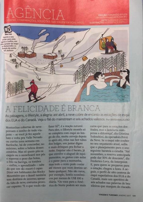 Revista Viagem e Turismo – Janeiro de 2017