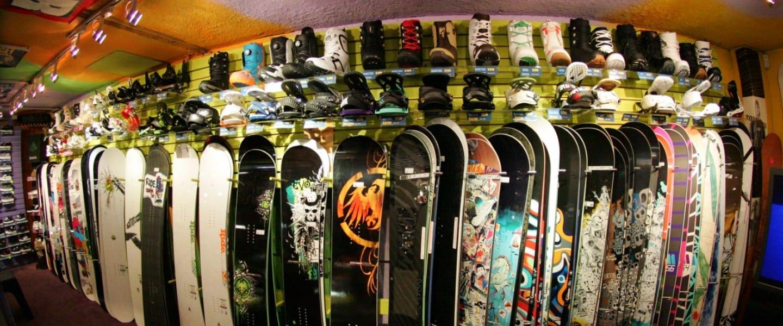 Equipamentos Snowboard
